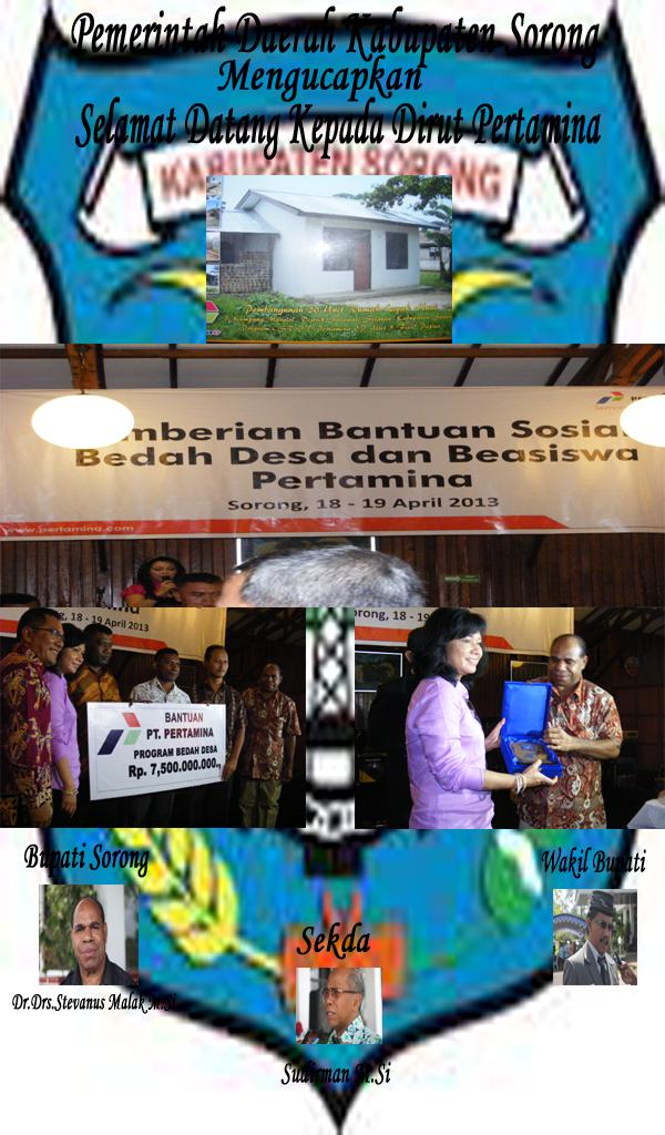 Iklan Kunjungan Dirut Pertamina